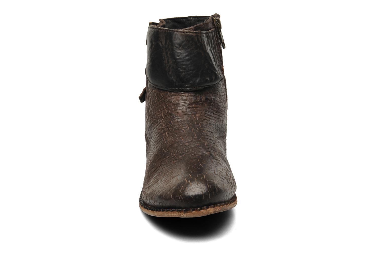 Bottines et boots H By Hudson Lumo Marron vue portées chaussures