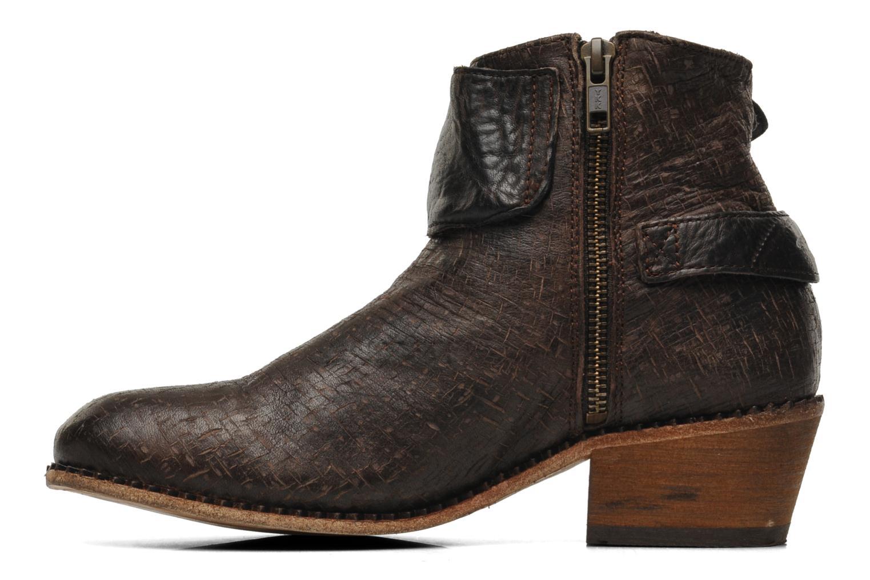 Stiefeletten & Boots H By Hudson Lumo braun ansicht von vorne