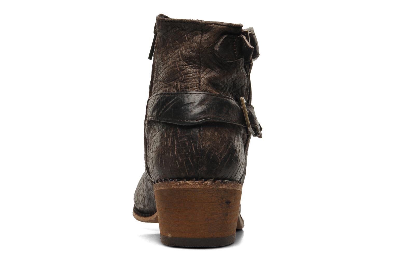 Stiefeletten & Boots H By Hudson Lumo braun ansicht von rechts