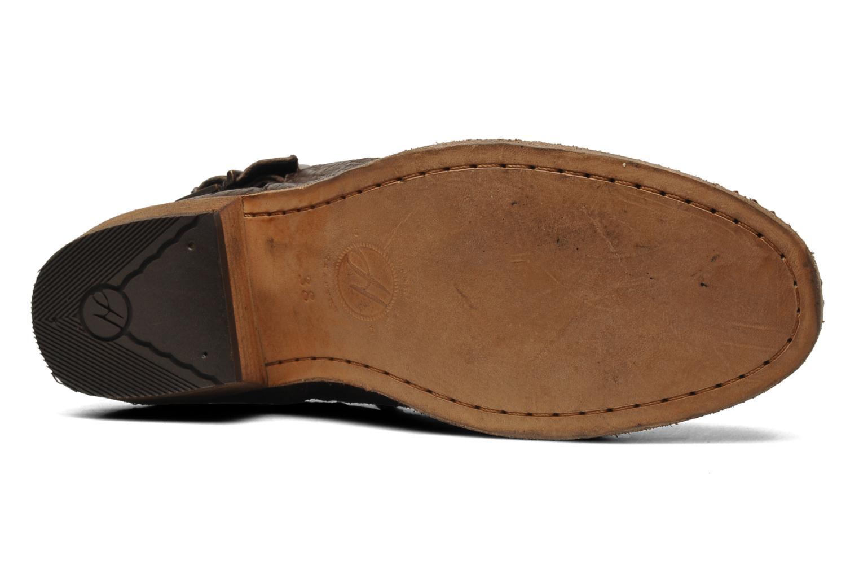 Bottines et boots H By Hudson Lumo Marron vue haut