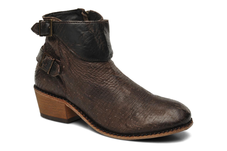 Bottines et boots H By Hudson Lumo Marron vue détail/paire