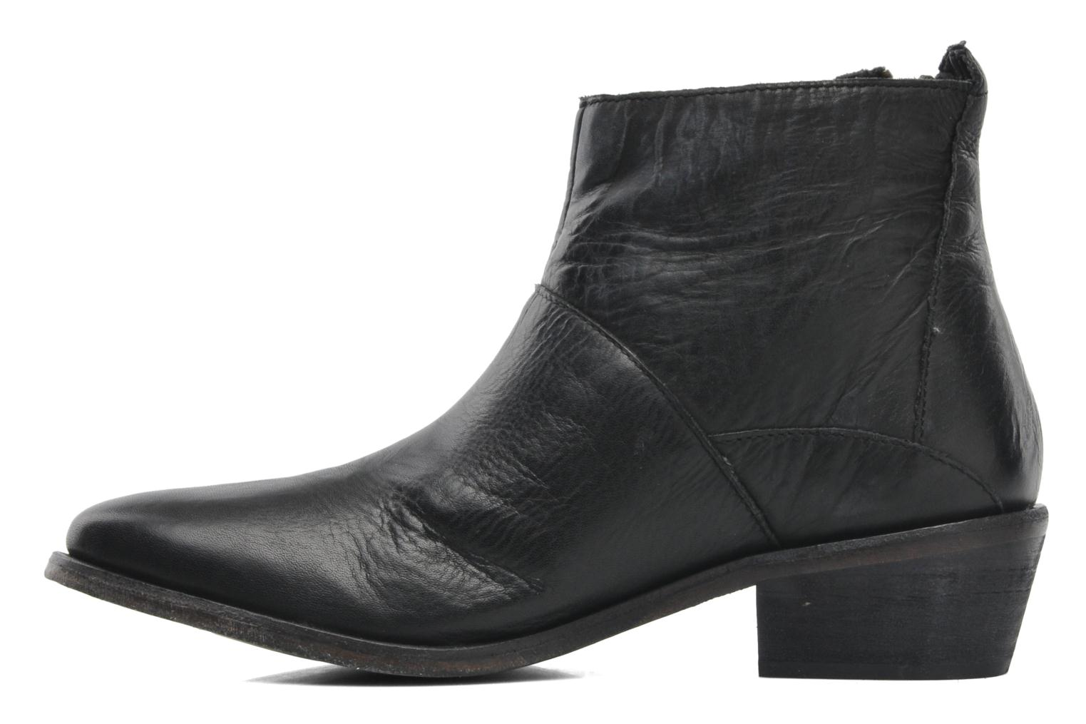 Bottines et boots H By Hudson Fop Noir vue face
