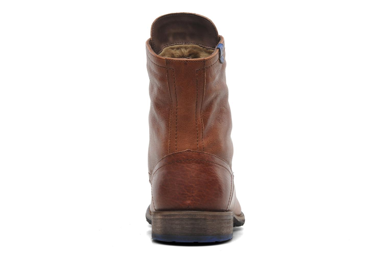 Bottines et boots Floris Van Bommel Roy Marron vue droite
