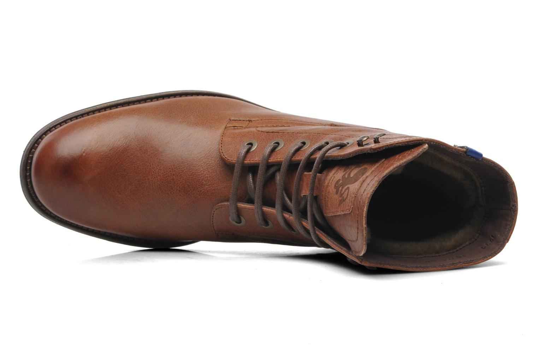 Bottines et boots Floris Van Bommel Roy Marron vue gauche