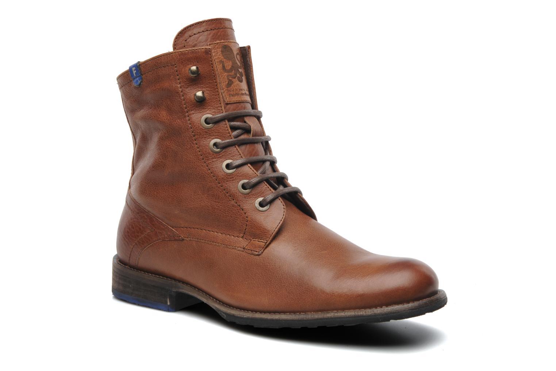 Bottines et boots Floris Van Bommel Roy Marron vue détail/paire