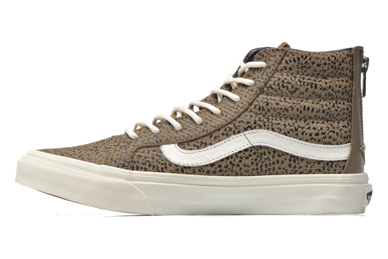 Sneakers Vans SK8-Hi Slim Zip Grijs voorkant