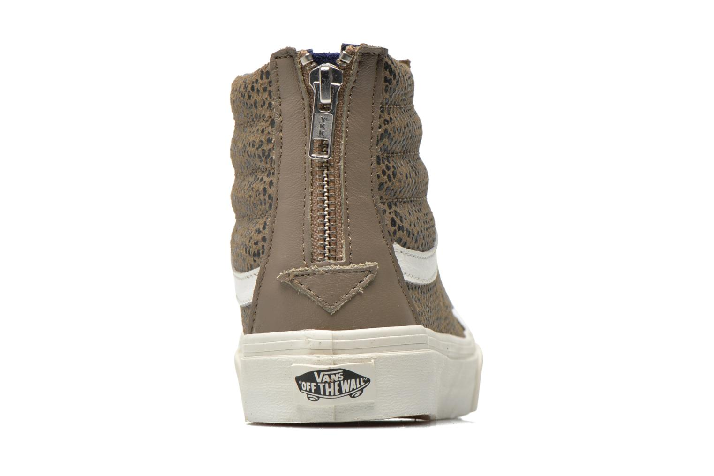 Sneakers Vans SK8-Hi Slim Zip Grijs rechts