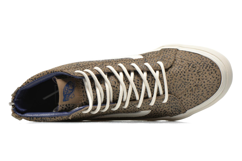 Sneakers Vans SK8-Hi Slim Zip Grijs links