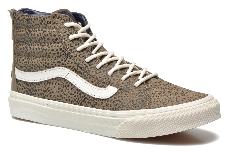 Sneakers Vans SK8-Hi Slim Zip Grijs detail