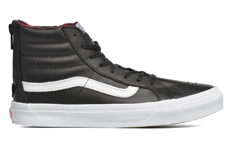 Sneaker Vans SK8-Hi Slim Zip schwarz ansicht von hinten