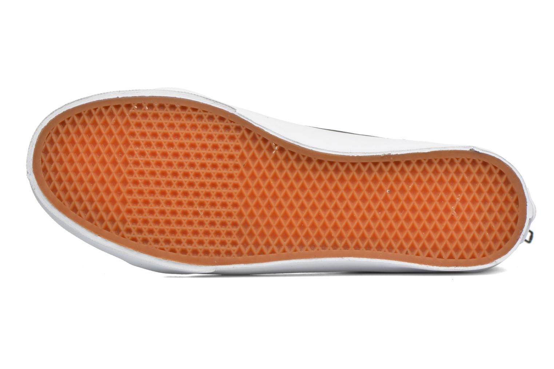 Sneaker Vans SK8-Hi Slim Zip schwarz ansicht von oben
