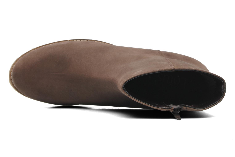 Boots en enkellaarsjes Lotus Hawk Bruin links