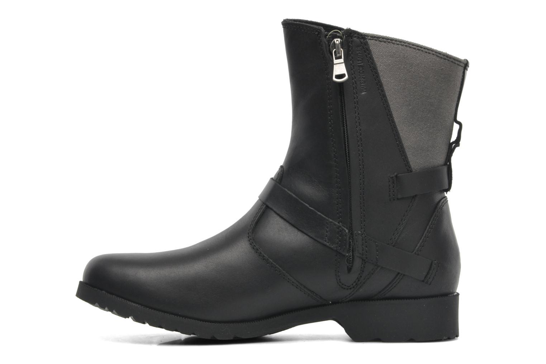 Boots en enkellaarsjes Teva De la Vina Low W Canvas Zwart voorkant