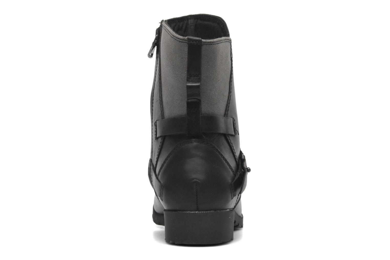 Boots en enkellaarsjes Teva De la Vina Low W Canvas Zwart rechts