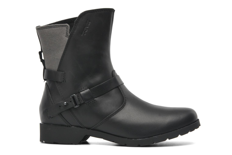 Boots en enkellaarsjes Teva De la Vina Low W Canvas Zwart achterkant