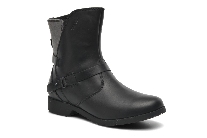 Boots en enkellaarsjes Teva De la Vina Low W Canvas Zwart detail