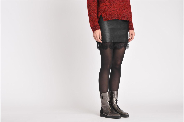 Bottines et boots Swear Karin 03 Noir vue bas / vue portée sac