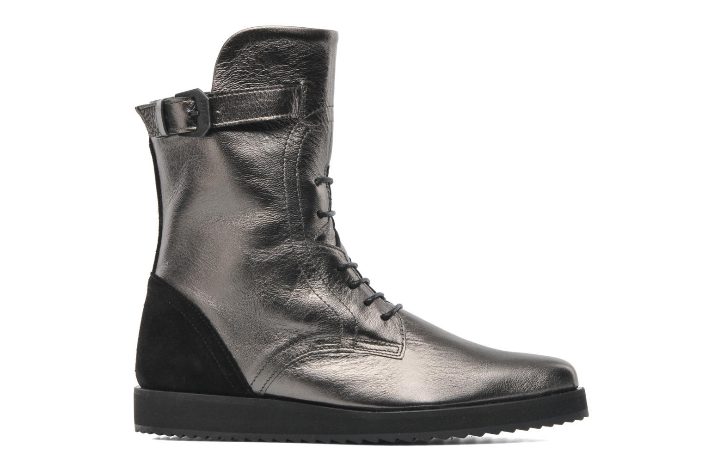 Karin 03 Black/Metallic leather