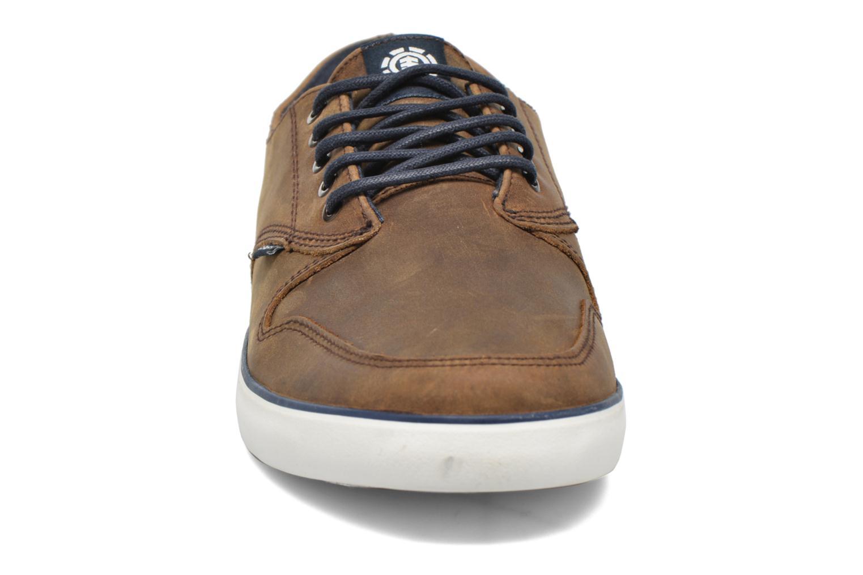 Baskets Element TOPAZ PREMIUM Marron vue portées chaussures