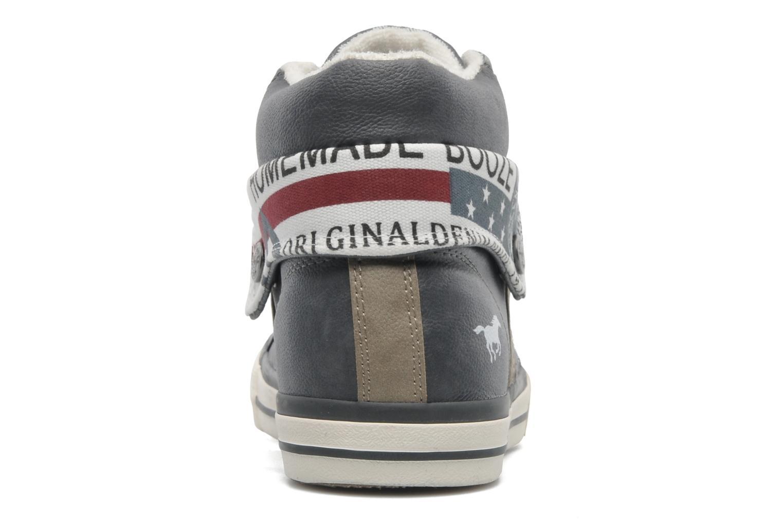 Baskets Mustang shoes Mathys Gris vue droite