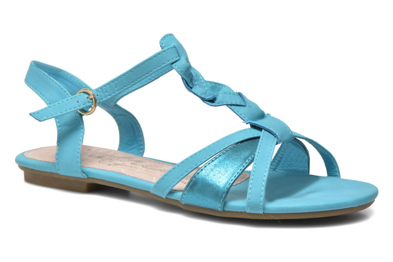 Sandals Refresh Rafia Blue detailed view/ Pair view