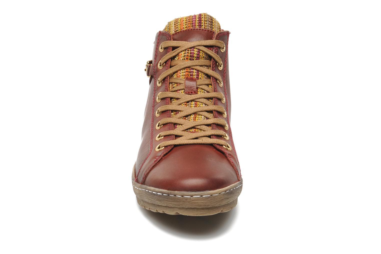 Sneaker Pikolinos Lagos 901-7312 rot schuhe getragen