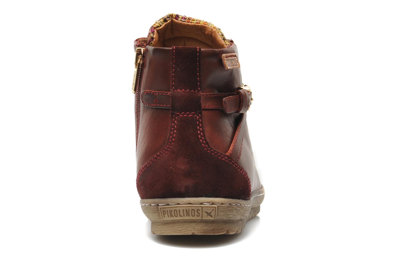 Sneaker Pikolinos Lagos 901-7312 rot ansicht von rechts