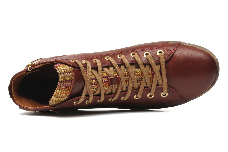 Sneaker Pikolinos Lagos 901-7312 rot ansicht von links
