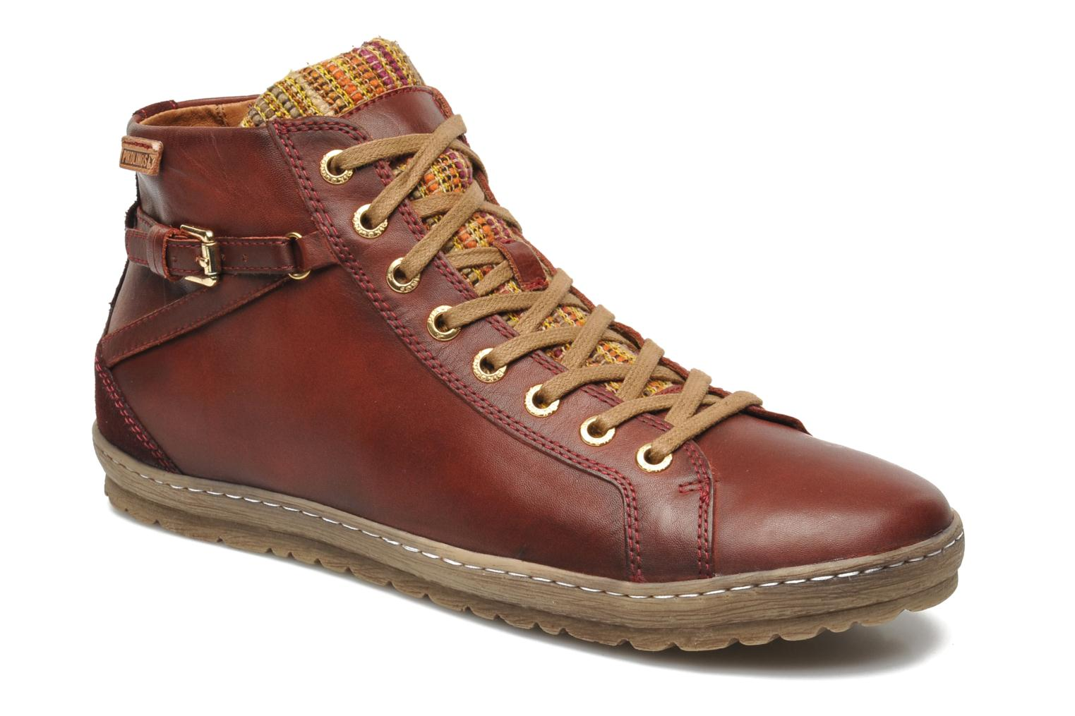 Trainers Pikolinos Lagos 901-7312 Red detailed view/ Pair view