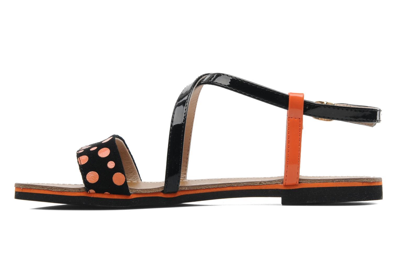Sandales et nu-pieds Elle Varenne Orange vue face
