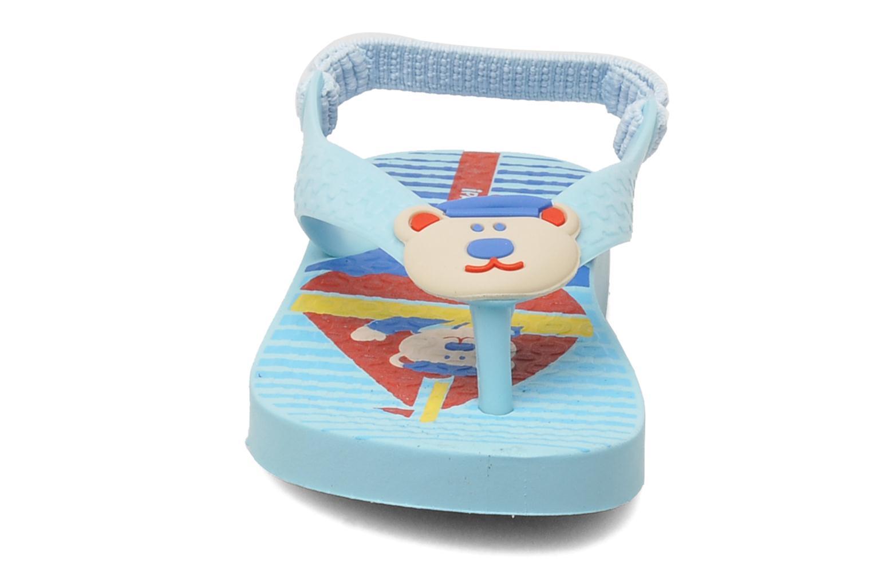 Zehensandalen Ipanema Temas Baby G blau schuhe getragen