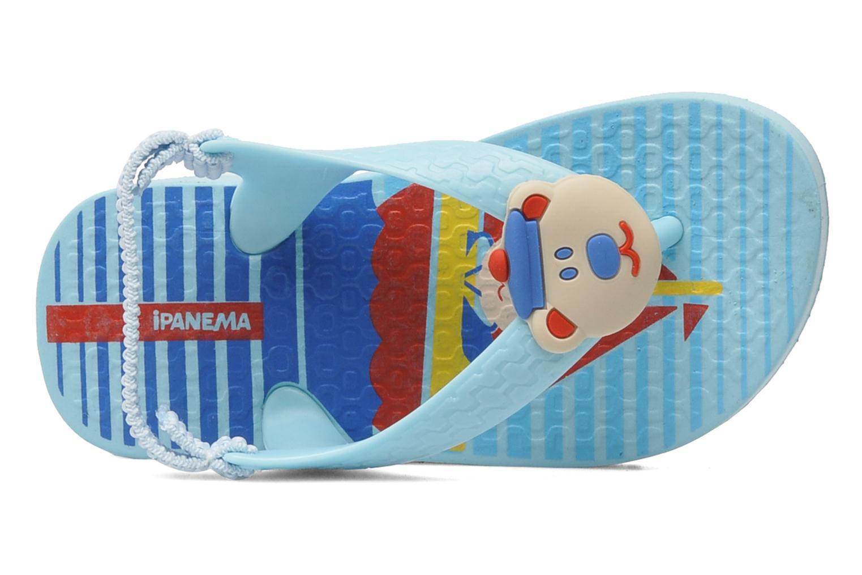 Zehensandalen Ipanema Temas Baby G blau ansicht von links