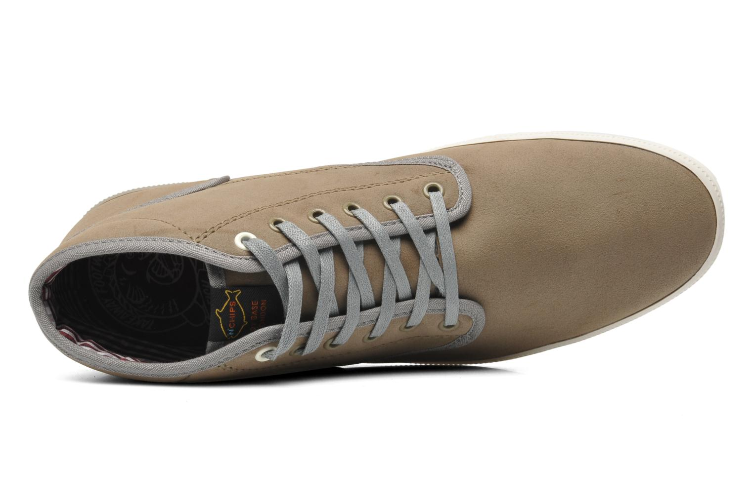 Sneaker Fish 'N' Chips Malt beige ansicht von links