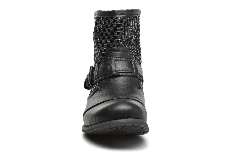 Bottines et boots Bunker Sara Sun Noir vue portées chaussures