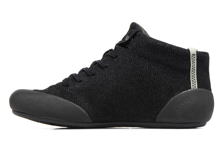 Sneaker Camper Peu Senda 46713 schwarz ansicht von vorne