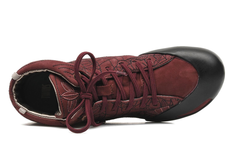 Sneaker Camper TWS Peu Senda 46746 weinrot ansicht von links