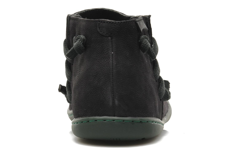Boots en enkellaarsjes Camper Peu Cami 46824 Zwart rechts
