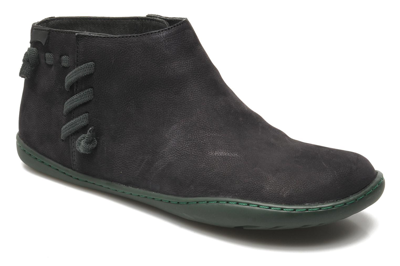 Boots en enkellaarsjes Camper Peu Cami 46824 Zwart detail