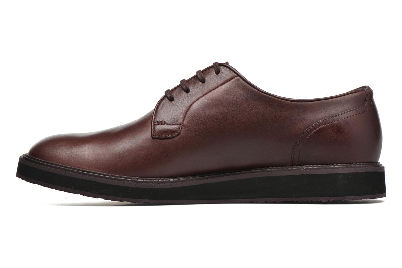 Chaussures à lacets Camper Magnus 18897 Bordeaux vue face