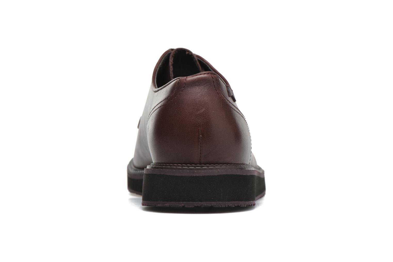 Chaussures à lacets Camper Magnus 18897 Bordeaux vue droite