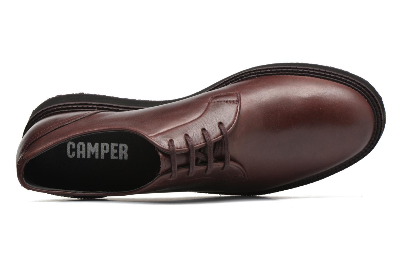 Chaussures à lacets Camper Magnus 18897 Bordeaux vue gauche