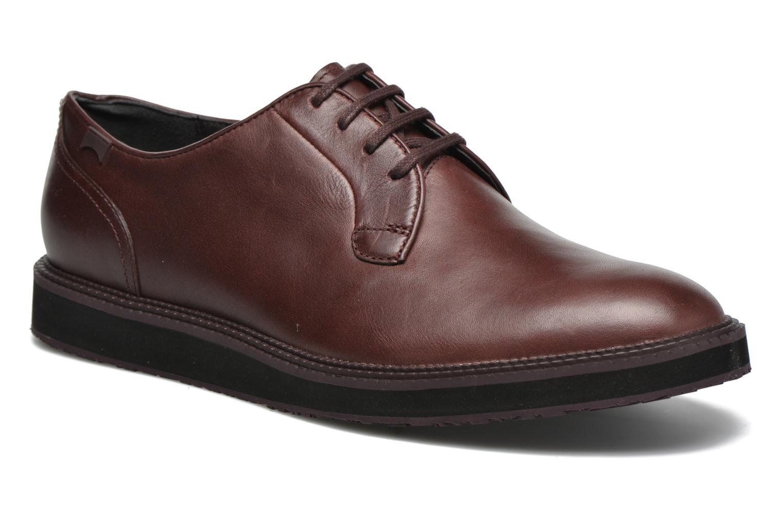Chaussures à lacets Camper Magnus 18897 Bordeaux vue détail/paire