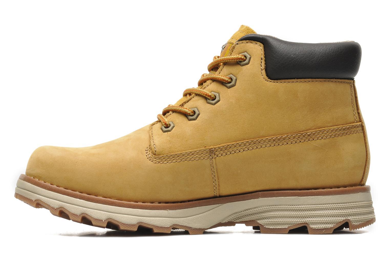 Boots en enkellaarsjes Caterpillar FOUNDER Geel voorkant