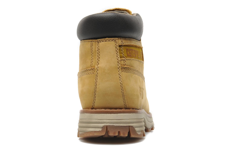 Bottines et boots Caterpillar Founder Jaune vue droite