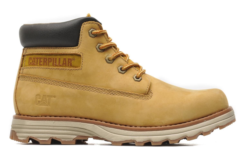 Bottines et boots Caterpillar Founder Jaune vue derrière