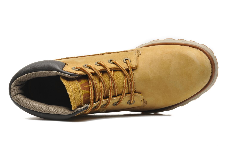 Bottines et boots Caterpillar Founder Jaune vue gauche
