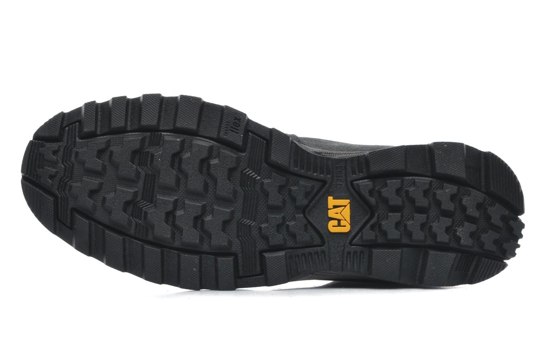 Stiefeletten & Boots Caterpillar FOUNDER schwarz ansicht von oben