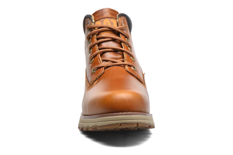 Bottines et boots Caterpillar Founder Marron vue portées chaussures