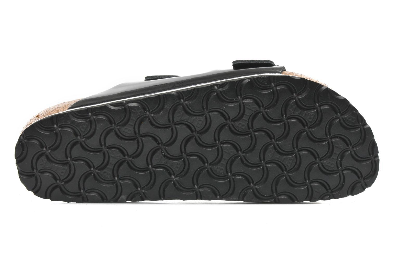 Clogs & Pantoletten Birkenstock Arizona Cuir W schwarz ansicht von oben