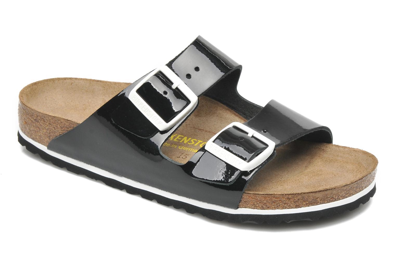 Zapatos promocionales Birkenstock Arizona Cuir W (Negro) - Zuecos   Descuento de la marca